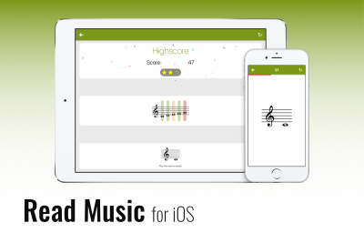 Read music for iOS - The flagship of my apps
